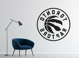 NBA Toronto Raptors Wall Decal Vinyl Basketball Team Room St