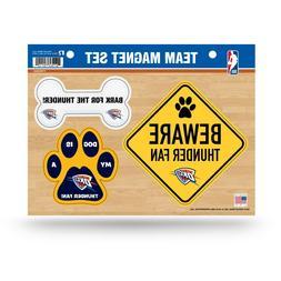 NEW! NBA PET DOG MAGNET SHEET SET BEWARE FAN LICENSED CHOOSE