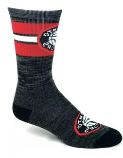 New Toronto Raptors NBA Football First String Crew Socks