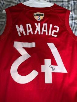 Pascal Siakam Autographed Toronto Raptors Finals Jersey Sign