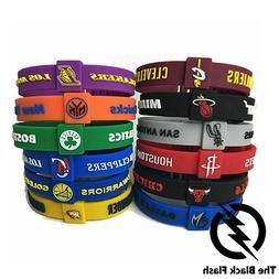 American Basketball - Silicone Bracelet - Adjustable - Fans