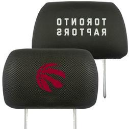 Toronto Raptors 2-Pack Auto Car Truck Embroidered Headrest C