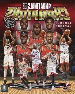 Toronto Raptors 2019 NBA Champions Team Composite 8x10 Photo