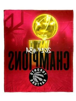 Toronto Raptors 2019 NBA Championship  Silk Touch 50x60 Thro