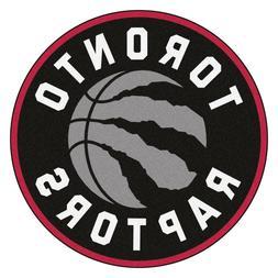 """Toronto Raptors 27"""" Roundel Area Rug Floor Mat"""