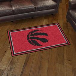 Toronto Raptors 3' X 5' Decorative Ultra Plush Carpet Area R