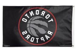 Toronto Raptors 3x5 Banner Flag Black Basketball NBA Grommet