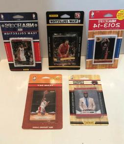 NBA Toronto Raptors 5 Different Licensed Trading Card Team s