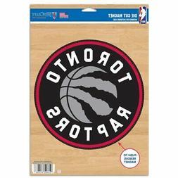 "Toronto Raptors WinCraft 6"" x 9"" Logo Car Magnet"