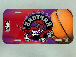 Toronto Raptors Basketball Vibrant Retro Acrylic License Pla