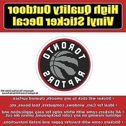Toronto Raptors Basketball Vinyl Bumper Car Window Sticker d