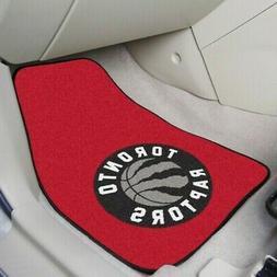 Toronto Raptors Car Floor Mat 2-Piece carpet Set