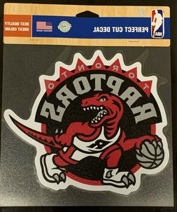 "Toronto Raptors Classic 8""x8"" Die Cut Decal Retro Logo Vibra"