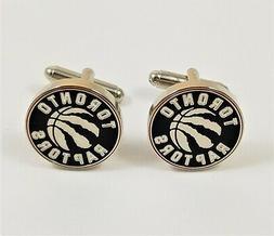 Toronto Raptors Cufflinks--NBA Basketball Sports Canada Onta