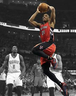 Toronto Raptors DEMAR DEROZAN Glossy 8x10 Photo Basketball S