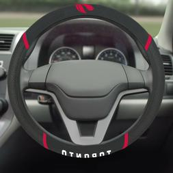Toronto Raptors Embroidered Steering Wheel Cover