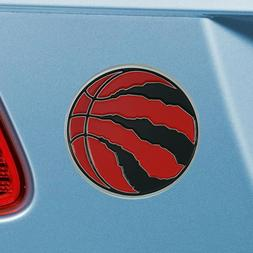 Toronto Raptors Heavy Duty Metal 3-D Color Auto Emblem