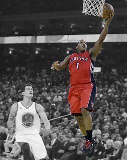 Toronto Raptors KYLE LOWRY Glossy 8x10 Photo Basketball Spot