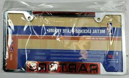 Toronto Raptors WinCraft Laser Inlaid Metal License Plate Fr