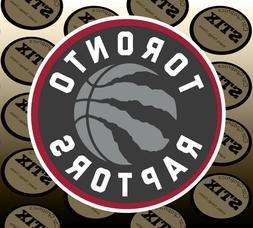 Toronto Raptors Logo NBA Die Cut Vinyl Sticker Car Window Ho