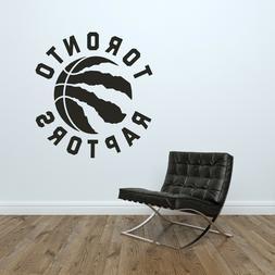 Toronto Raptors Logo Wall Decal Basketball NBA Decor Sport M