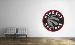 Toronto Raptors Logo Wall Decal NBA Basketball Decor Sport M