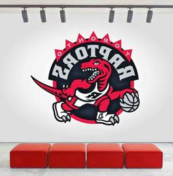 Toronto Raptors Logo Wall Decal Sports Window Sticker Decor