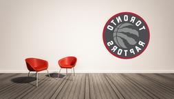 Toronto Raptors Logo Wall Decal  Vinyl Decor Room NBA