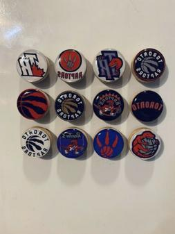 Toronto Raptors Magnets - Set Of 12 - FREE SHIPPING