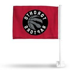 Toronto Raptors NBA 11X14 Window Mount 2-Sided Car Flag