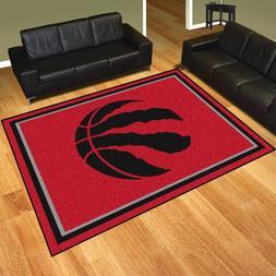 Toronto Raptors NBA Area Rug Floor Carpet 8' x 10'