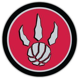 "Toronto Raptors  NBA Basketball Car Bumper Sticker Decal ""SI"