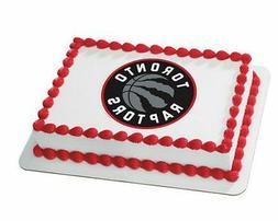 toronto raptors nba basketball frosting image cake