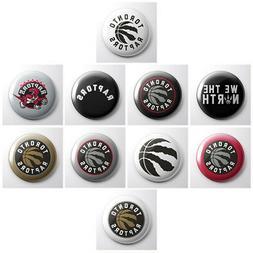 TORONTO RAPTORS - NBA basketball pinback buttons - sports te
