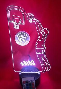 Toronto Raptors NBA Basketball Player Light Up Lamp LED Remo