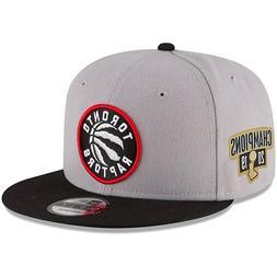 Toronto Raptors New Era NBA Final Champions Side Patch Gray