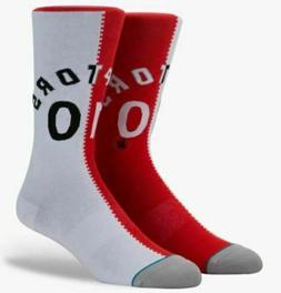 TORONTO RAPTORS NBA Stance Socks - Size L  - Brand New! Fast