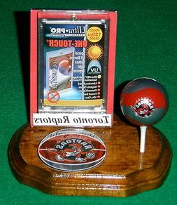 Toronto Raptors NBA Sports Card Display Holder Mini Ball Log