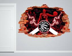 Toronto Raptors NBA Wall Decal Living Room Or Room 3D Wall P