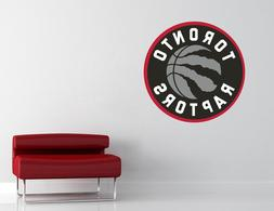 Toronto Raptors NBA Wall Decal Vinyl Sticker Decor Basketbal