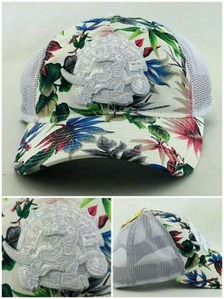 Toronto Raptors New Adidas Women Ladies Floral Mesh White Sn