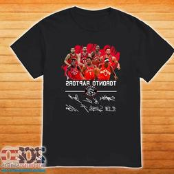 Toronto Raptors Team Players Signatures T-Shirt