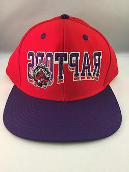 toronto raptors red purple new flat visor