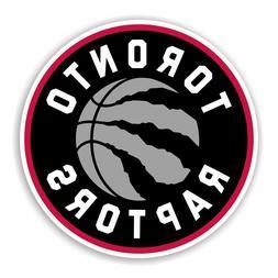 Toronto Raptors Round Decal / Sticker Die cut Basketball