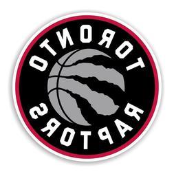 Toronto Raptors Round Sticker Basketball Decal Die cut