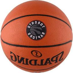 Toronto Raptors Spalding Official Size Logo Basketball - Fan