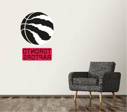 toronto raptors wall decal logo basketball nba