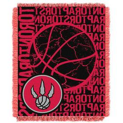 Toronto Raptors Woven Jacquard Tapestry Throw Blanket Spread