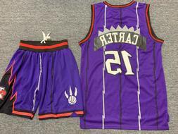VINCE CARTER #15 Toronto Raptors Swingman Basketball Jersey