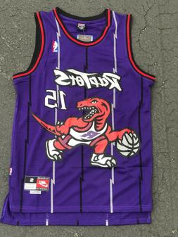 VINCE CARTER #15 Toronto Raptors Swingman throwback Men's Je